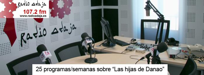 Entrevistas en Radio Adaja, programación especial dedicada nuestra película (25 semanas/programas)