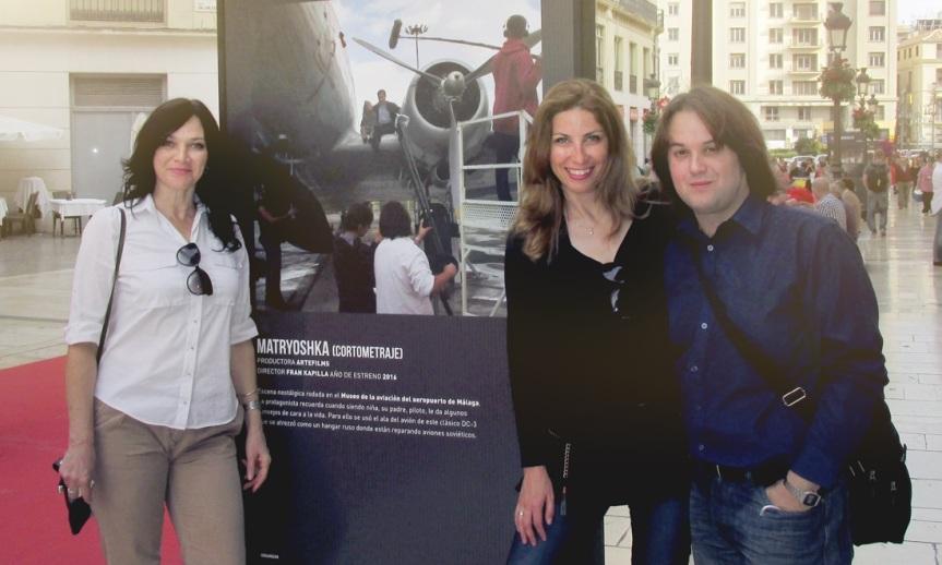"""Exposición en calle Larios: """"Matryoshka"""" y """"Las hijas de Danao"""",  entre + cine hecho enMálaga."""
