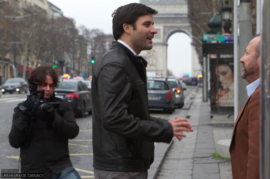 Crónica: El rodaje en París (Las hijas deDanao)