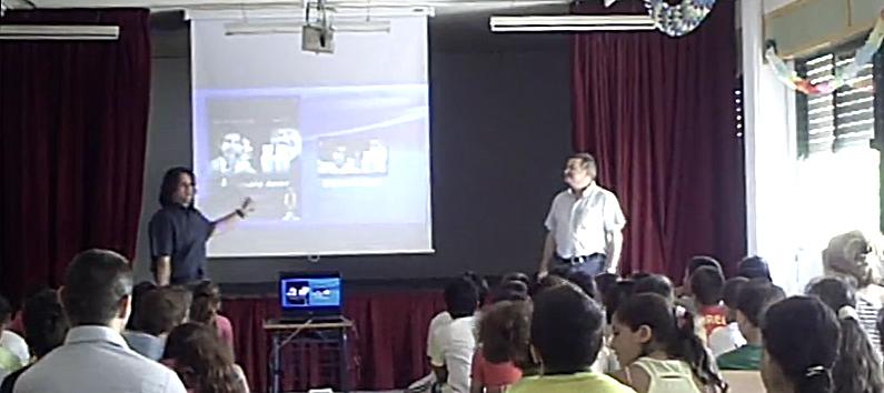 Masterclass y proyección en el Colegio SanMiguel