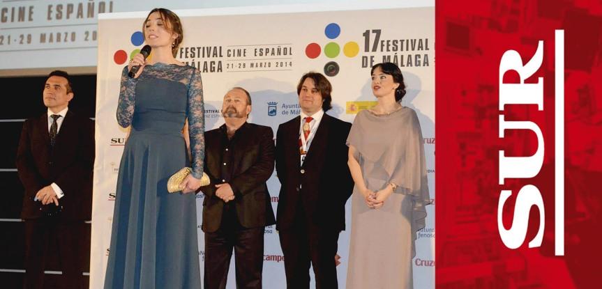 """Periódico """"Diario Sur"""" sobre el estreno en el Festival de Málaga de nuestro largometraje """"Las hijas deDanao"""""""