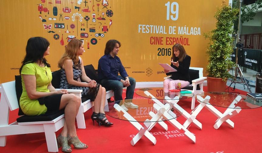 Onda Azul TV, en directo desde el 19º Festival de cine deMálaga
