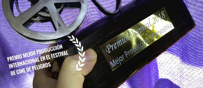 Premio Mejor producción internacional en el Festival de Peligros(Granada)
