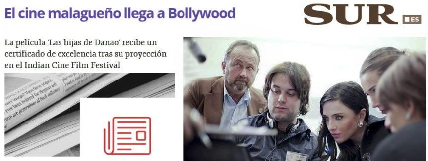 """Prensa """"Diario Sur"""": sobre nuestra selección en el Festival de la India (Las hijas deDanao)"""