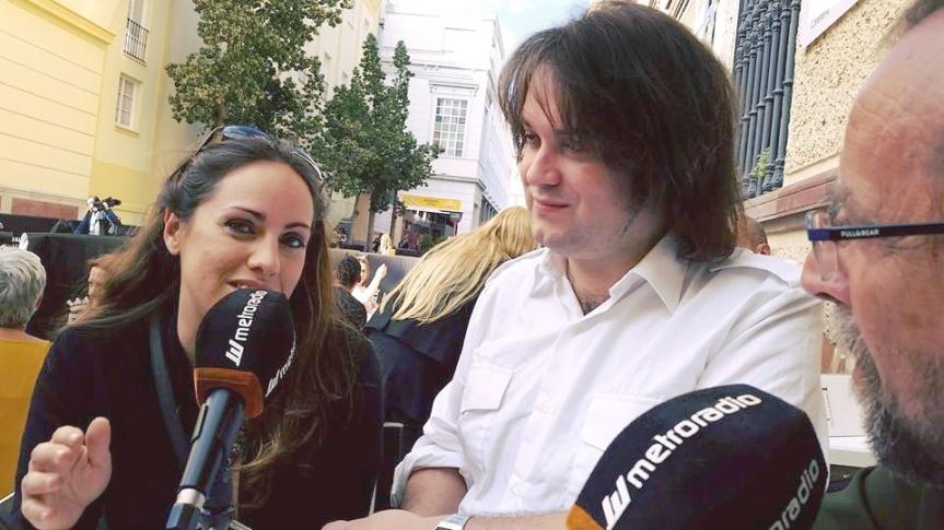 Entrevista en METRORADIO, en directo desde el 19 Festival deMálaga