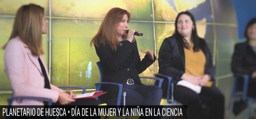 Matryoshka en el Planetario de Aragón (Día de la mujer y la niña en laciencia)