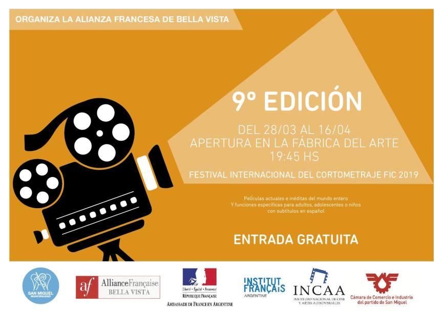 Festival internacional de cortometraje Argentina FIC