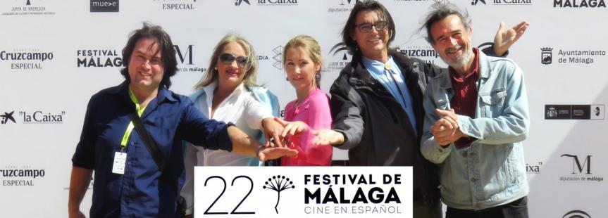 Nuestra presencia en el Festival de cine Málaga(2019)