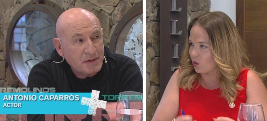"""Entrevista en TV a Antonio Caparrós (""""Disonancias"""")"""