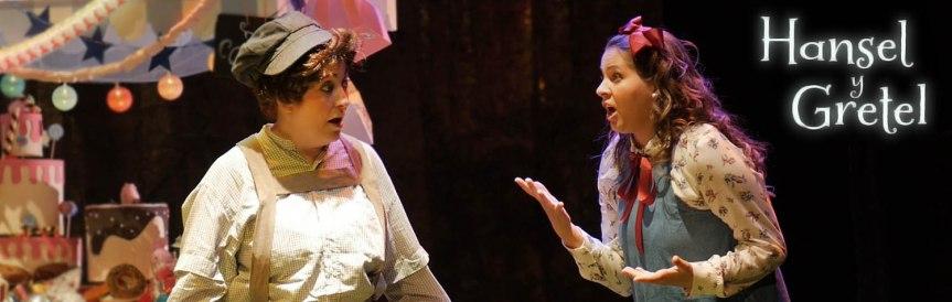 Ópera Hansel & Gretel de Teatro del Arte (grabación yedición)