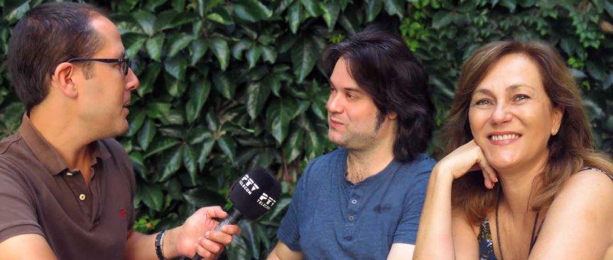 Entrevista para TV en el Museo JorgeRando