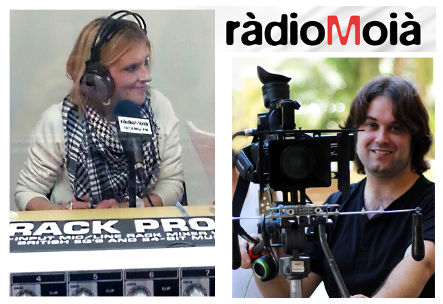 Entrevista en RadioMoià