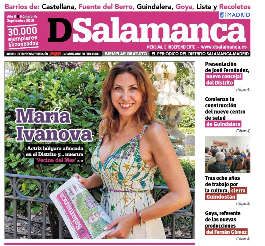 María Ivanova DSalamanca Madrid