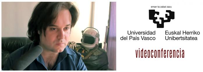 Videoconferencia y proyección para la Universidad del País Vasco (Lectorado deruso)