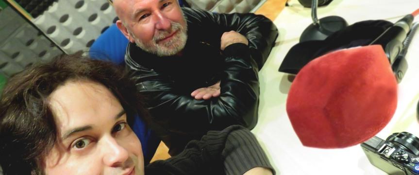 Entrevistados en esRadio (Antonio Caparrós yyo)