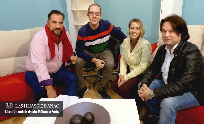 """Entrevista en PTV sobre el libro de """"Las hijas deDanao"""""""