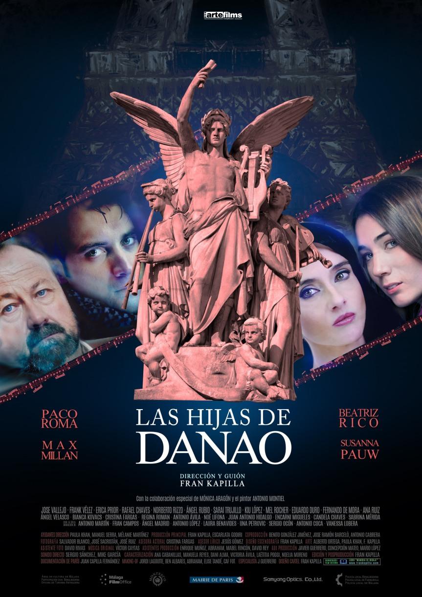 Cartel oficial Director's cut LAS HIJAS DE DANAO