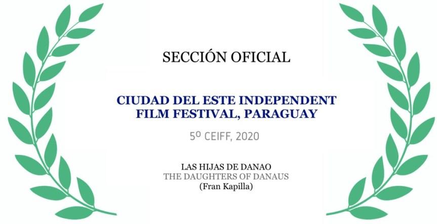 Seleccionados para el Festival de cine Ciudad del Este(Paraguay)
