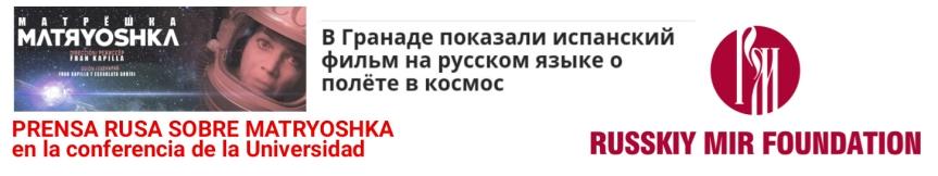 La prensa rusa (Russkiymir) habla sobre el evento de Matryoshka en laUniversidad