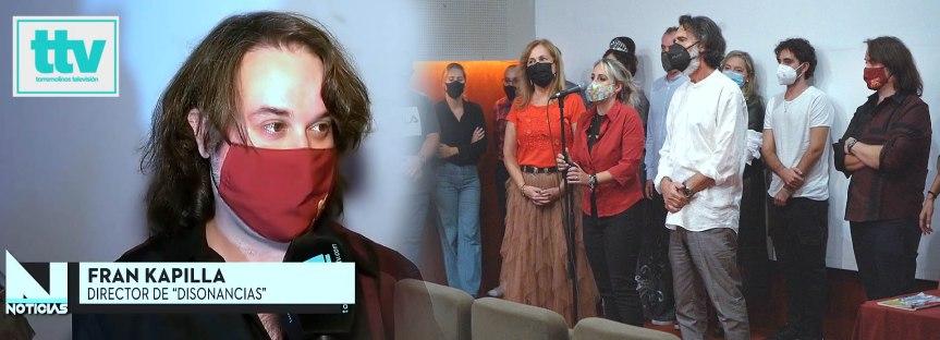 Torremolinos TV Noticias, evento de presentación de Disonancias de Fran Kapilla